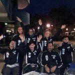 I 5 atleti Finp a Lignano Sabbiadoro con gli allenatori Chiara Bellini ed Erika Picchi