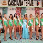 IL GRUPPO DELLE SEMIFINALISTE NAZIONALI TOSCANE 2017 CON RACHELE RISALITI MISS ITALIA 2016