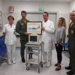 Una donazione Vega Onlus all'ospedale di Empoli (foto gonews.it)