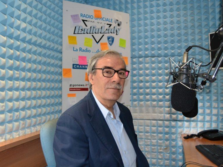 Vittorio Gabbanini negli studi di Radio Lady (foto gonews.it)