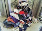 pila vestiti vecchi