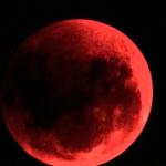 foto dall'osservatorio del Chianti, eclissi lunare