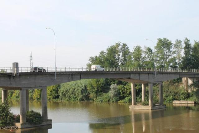 ponte via Giovanni XXIII calcinaia oltrarno