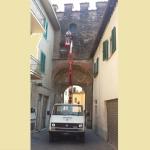 Porta dei vettori Altopascio-lavori chiusura (1)
