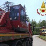 roccastrada incidente camion cava del gesso2