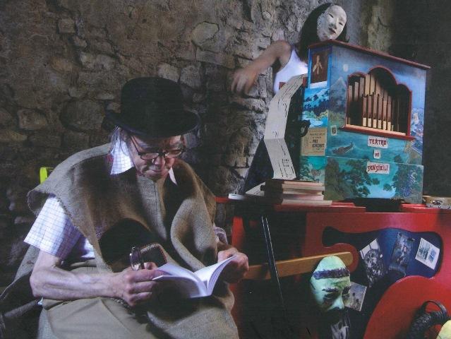GUIDO CERONETTI - TEATRO DEI SENSIBILI - 2007 - foto di Antonio D'Ambrosio