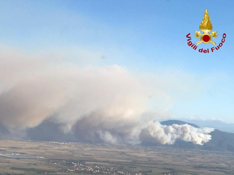 Incendio Monte Serra, l'emendamento di Ciampi sarà votato alla Camera
