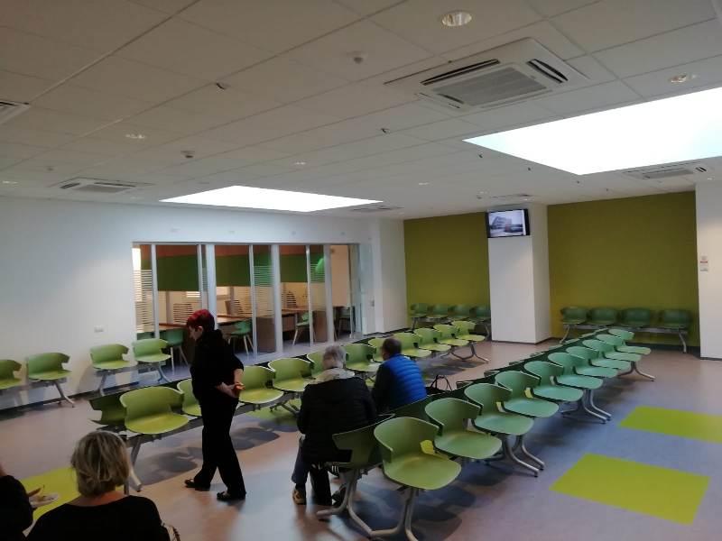 In Sala D Attesa.Inaugurata Sala D Attesa Dell Area Endocrinologica Di