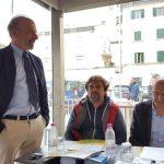 Da sinistra Lapo Cantini, Luca Taddeini e Marco Carpignani