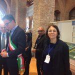 il sindaco conti e il presidente bongiovanni inaugurano la mostra itinerante dedalo-minosse