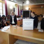 Il seggio per l'elezione del consiglio provinciale