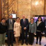 AOUP con il Commissario Europeo alla Salute Vytenis Andriukaitis