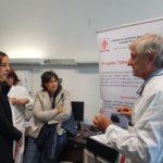Assessore Saccardi e Funaro con il dottor Scarsella
