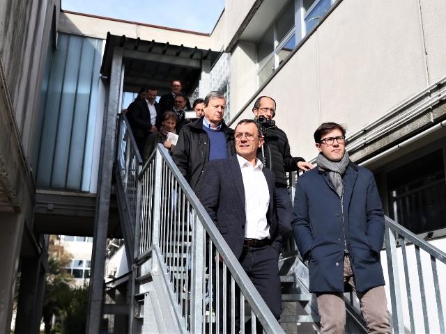 Scuole nardella visita dieci nuove aule e archivio al gobetti volta - Istituto gobetti volta bagno a ripoli ...