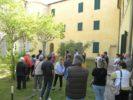 Visitatori all'ex Ospedale psichiatrico di Maggiano