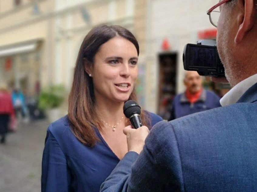 Simona Bonafè (foto da Facebook)