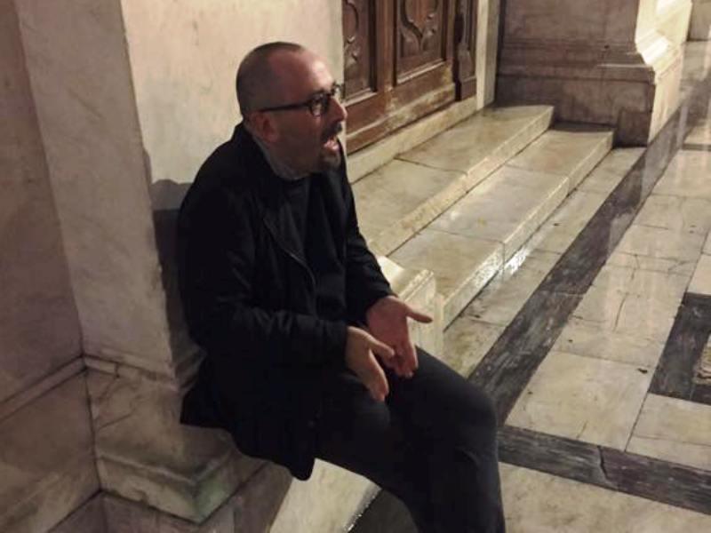 Dario Danti multato dalla polizia municipale di Pisa