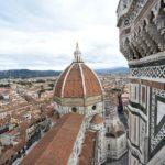 FIRENZE - iniziano dal campanile le operazioni di monitoraggio programmato foto Opera del Duomo Firenze/ Claudio Giovannini