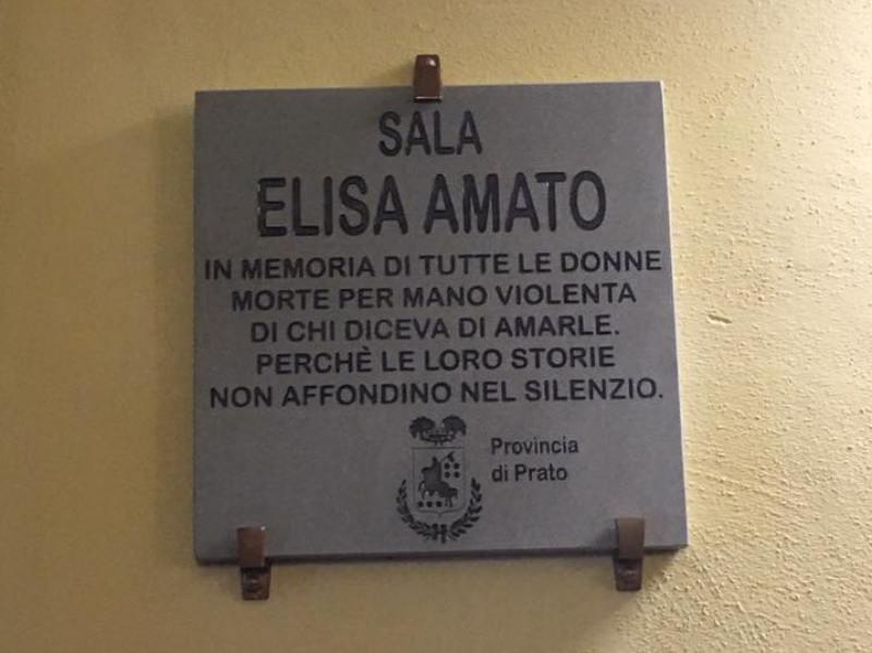 La Provincia di Prato omaggia Elisa Amato, vittima di femminicidio