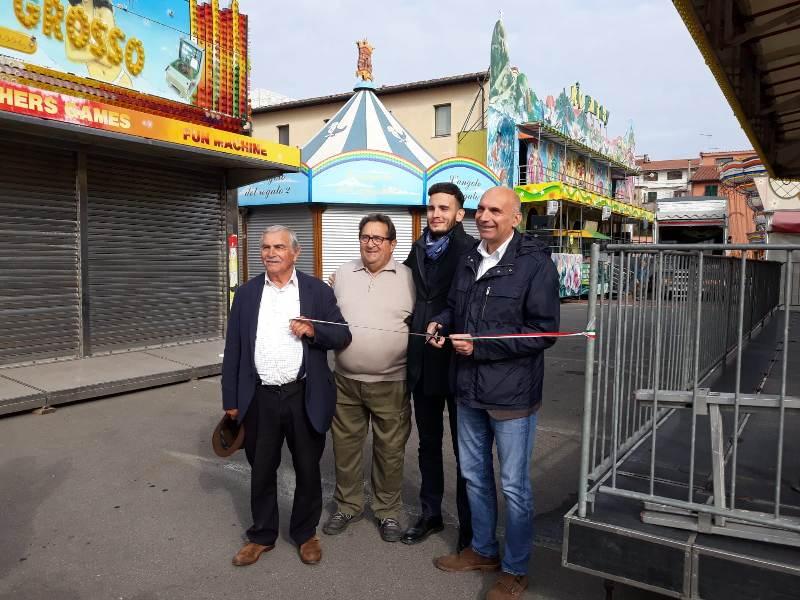 Fiera di Castelfranco, al via l'evento di richiamo della città: allestiti 130 banchi e luna park