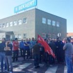 Iniziativa a sostegno degli operai Bekaert