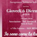 locandina dell'evento del Club Soroptimist di Valdarno Inferiore