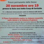 locandina forum donne certaldo