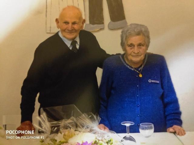 Anniversario Matrimonio Lotto.Franca Natali E Ortiero Lotti Festeggiano 70 Anni Di Matrimonio