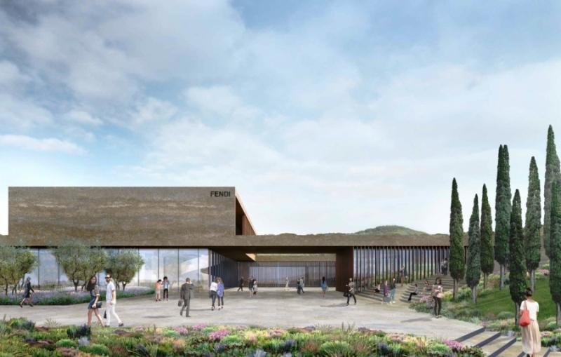 Nuovo stabilimento fendi adottata variante urbanistica for Bagno a ripoli primolio 2018