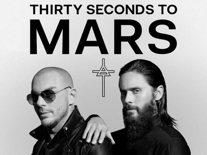 Estate Live, tornano a Padova i 30 Seconds to Mars