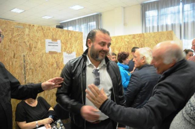 """Bruno Ciuffi Commissario Fraternita di Misericordia """"San Francesco"""" di Massa"""