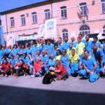 un gruppo di volontari della Misericordia