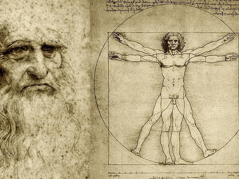 Leonardo da Vinci - Uomo Vitruviano