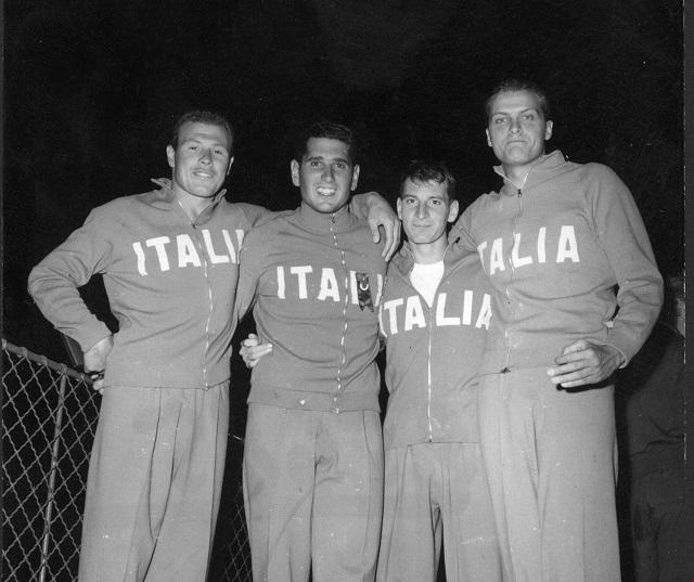Paolo Galletti il terzo da sinistra