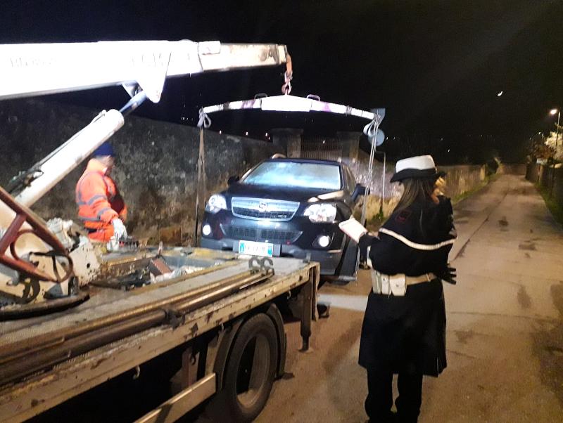 Ritrovata a Firenze auto rubata in concessionaria a Empoli