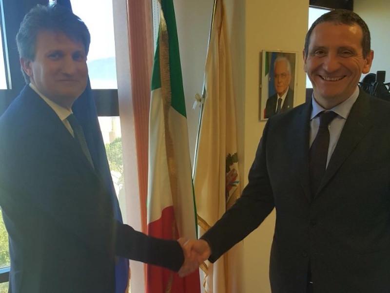 Incontro a Pisa tra il presidente Angori e il nuovo prefetto Castaldo