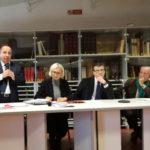 Monica Barni,  Giuseppe Torchia,  Paolo Galluzzi (foto gonews.it)