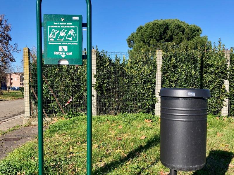 Toilette per cani nei parchi di Castelfranco di Sotto