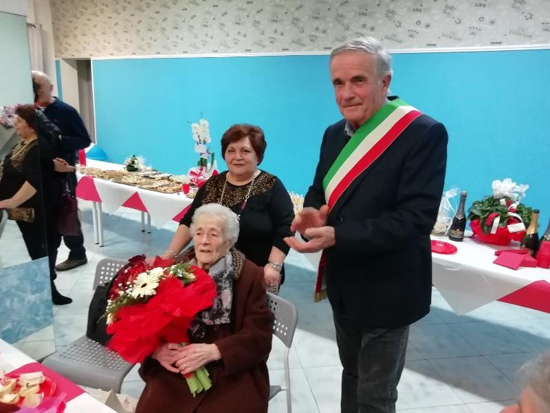 100 anni Lina Minuti calcinaia fornacette2