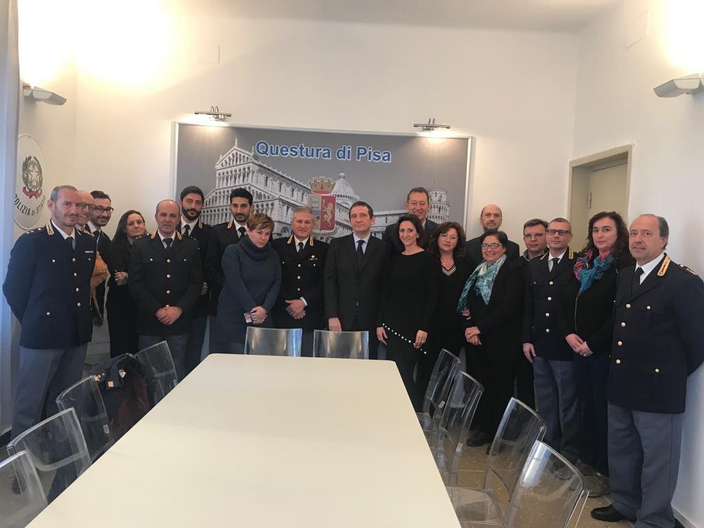 20190115 - visita Questura Pisa