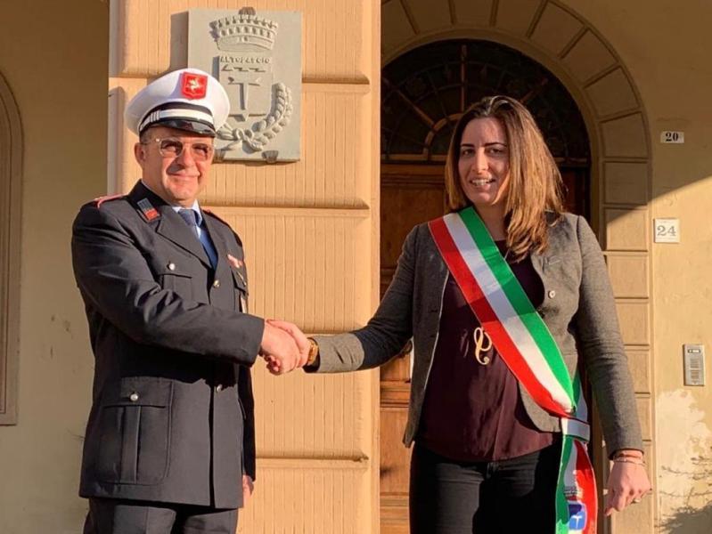 Italo Pellegrini e Sara D'Ambrosio