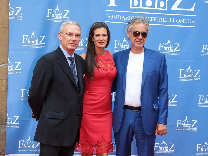 Pippo Zeffirelli, Veronica e Andrea Bocelli
