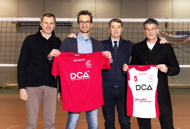 I soci di DCA da sinistra: Filippo Sani, Diego Poggetti, Enrico Bonistalli e Stefano Monti