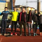 Roberto Ancillotti con il suo gruppo di atleti