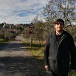 assessore Lavori pubblici Roberto Ciappi al cantiere di via Montopolo