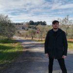assessore Roberto Ciappi cantiere di via Montopolo