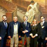 Sindaco e assessore con la delegazione ANAP ed il senatore Francesco Verducci