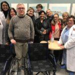 donazione commercianti via roma pontedera carrozzine ospedale lotti