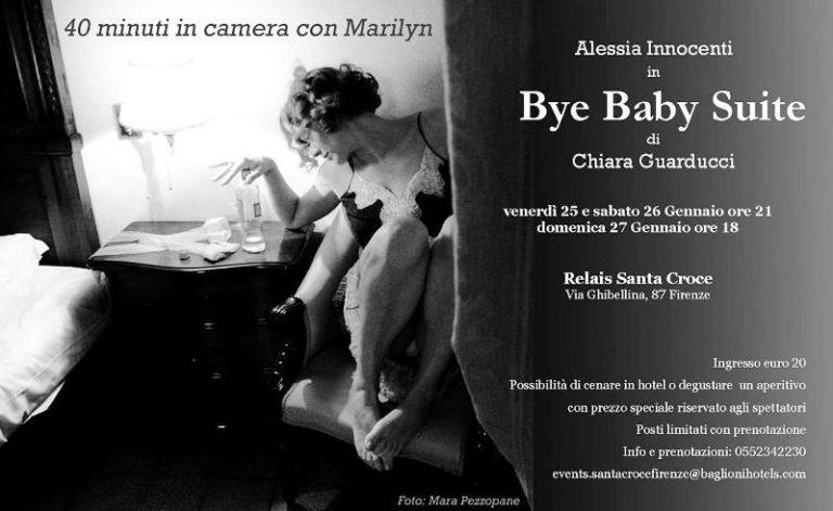 L'ultima notte di Marilyn Monroe in scena in una suite