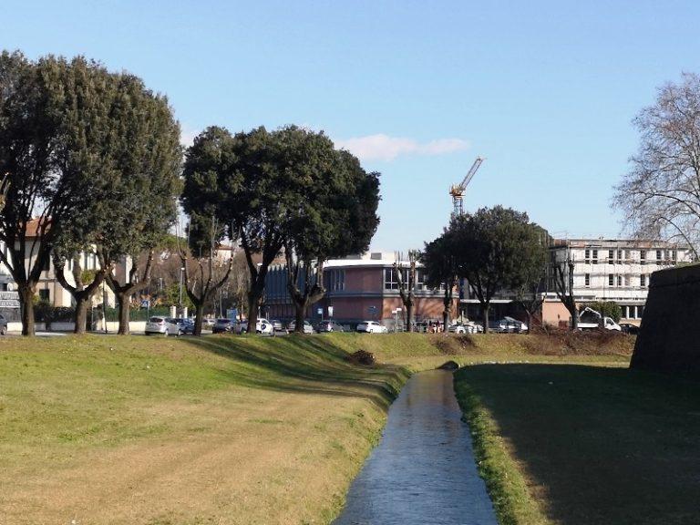Potature alberi tratto Porta San Iacopo Porta Elisa a Lucca